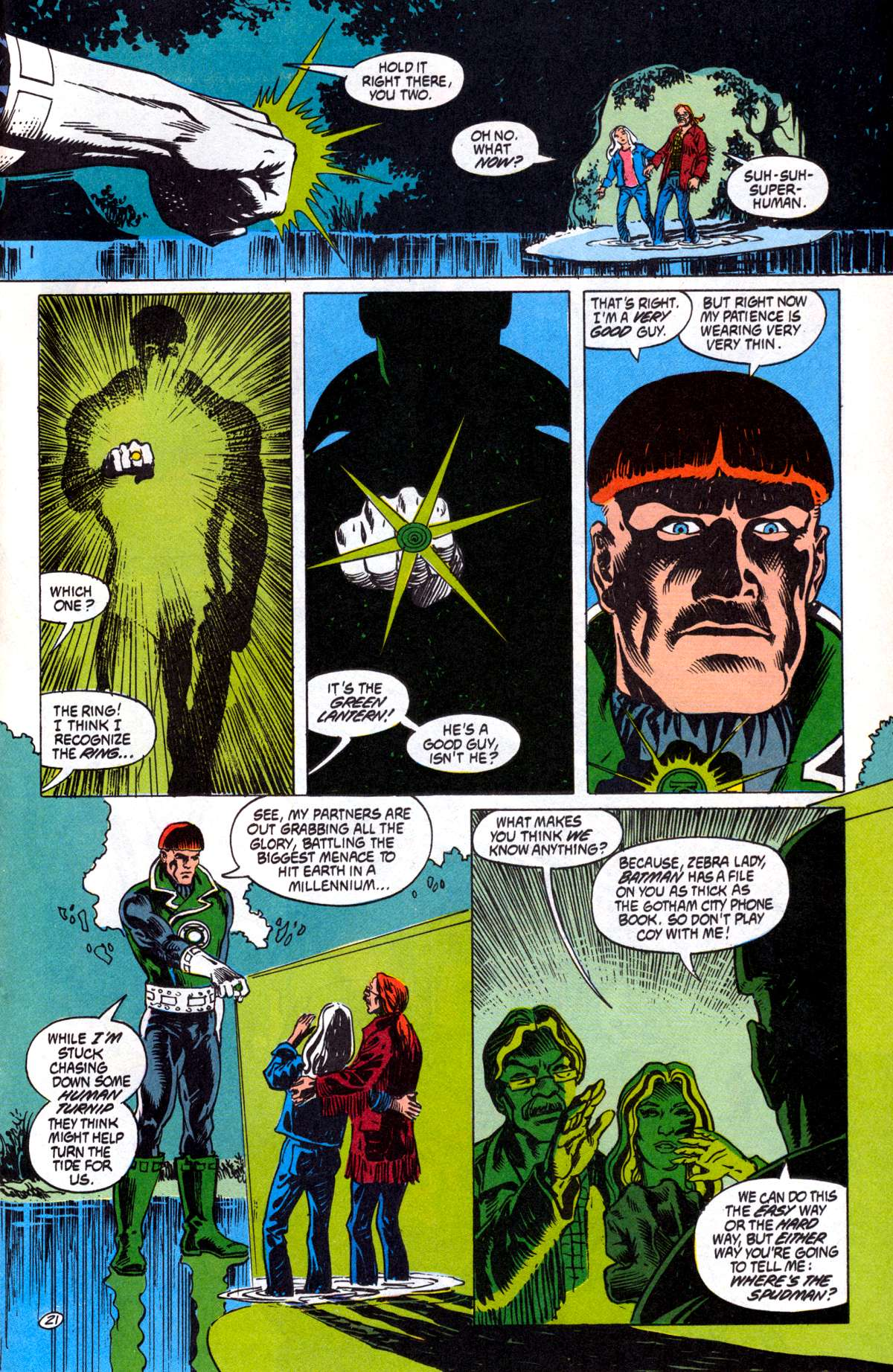 Swamp Thing (1982) Issue #81 #89 - English 22