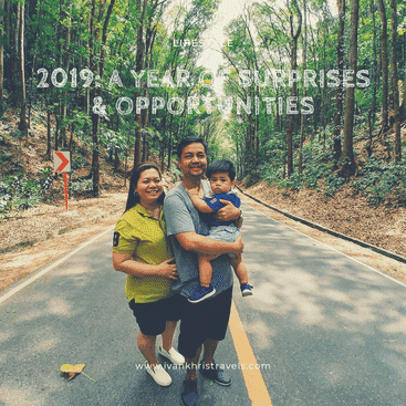 Our family trip to Bohol in 2019, photo was taken at the man-made Mahogany forest