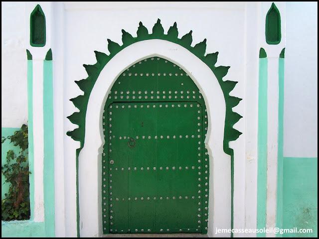 Porte de la casbah de Tanger