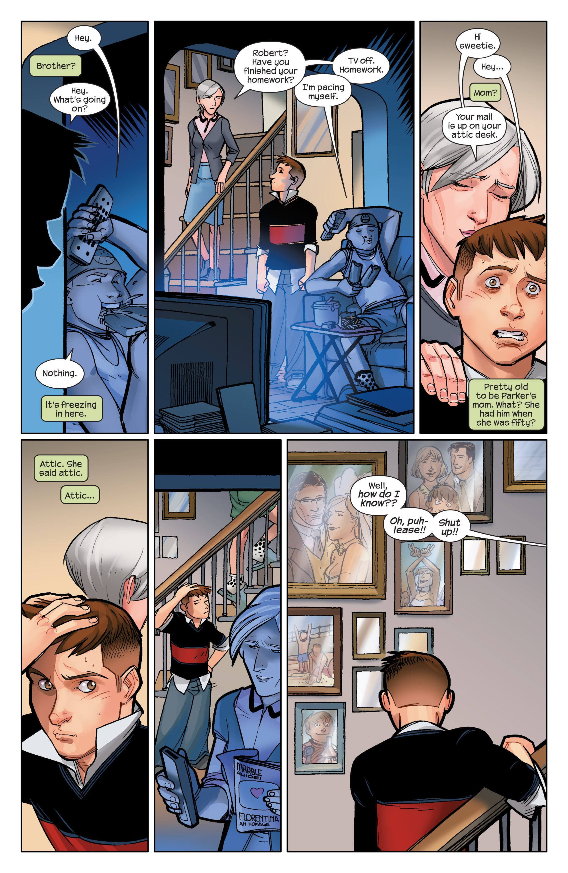 Read online Ultimate Spider-Man (2009) comic -  Issue #12 - 8