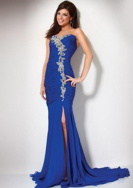 Vestidos de moda azul