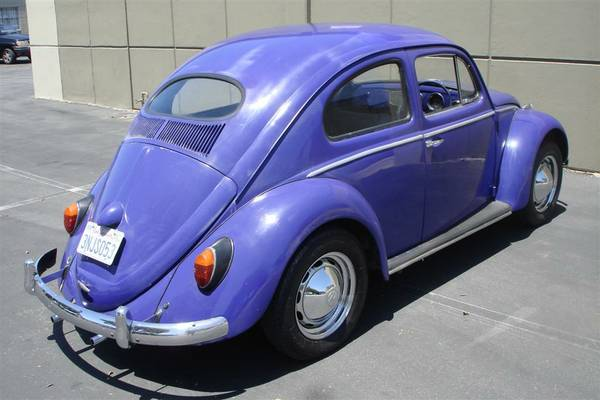 1957 VW Oval Window Bug RHD