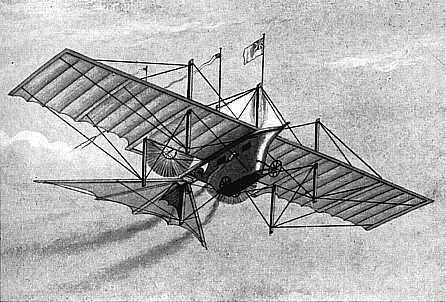 When did the first powered airplane fly? | Facts About All