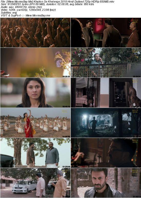 Khatron Se Khelenge 2018 Hindi Dubbed 720p HDRip 850MB