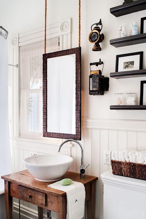 mueble lavabo vintage