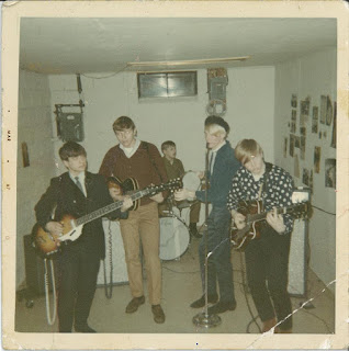Early 67  Future Poobah guitarist Jim Poobah Gustafson and bassist Phil Jones (rip). We rocked Grandma's basement, and her neighbor called the cops!