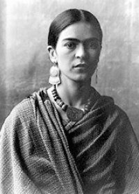 July memory of Frida Kahlo