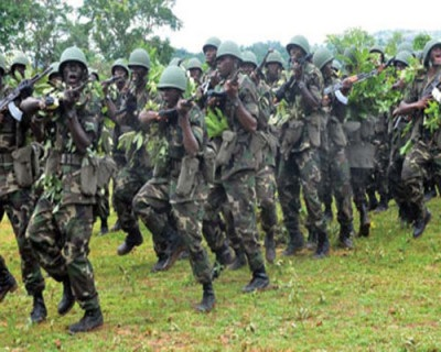 Troops swoop on creeks for soldiers' killers