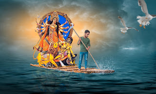 durga puja photo, durga puja photo editing, durga puja manipulation, durga puja background, hd durga puja background, background for durga puja