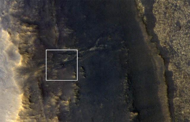 Sonda Opportunity fotografada pelo MRO