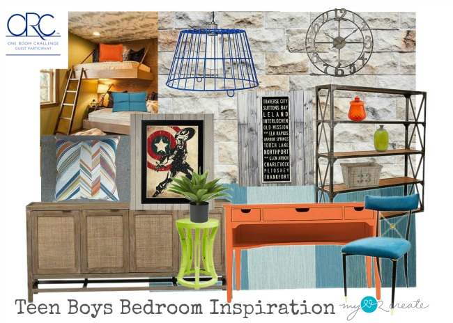 Teen Boys Bedroom Inspiration, MyLove2Create