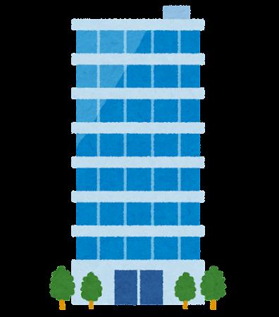 ビルのイラスト(建物)