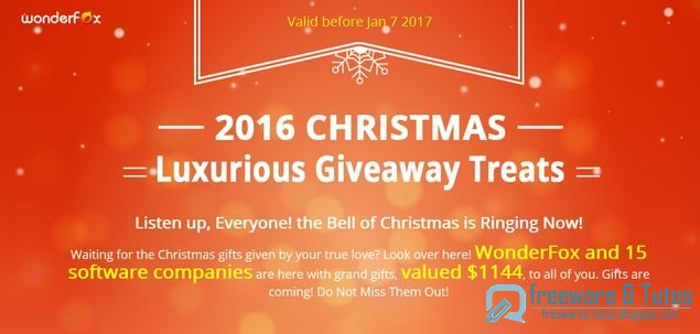 Offre promotionnelle : 9 logiciels commerciaux gratuits pour Noël !