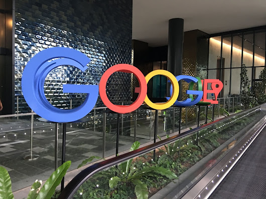 Visit to Google Office in Singapore