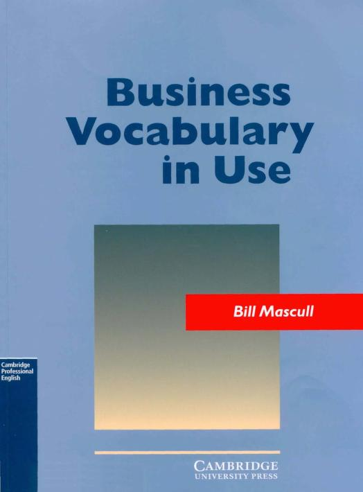 Business Vocabulary In Use Free PDF Book