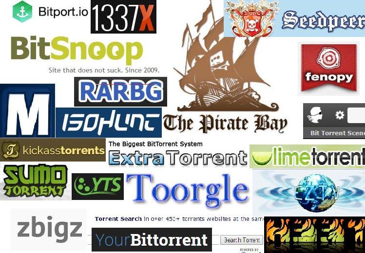 10 siti Torrent più popolari del 2018.