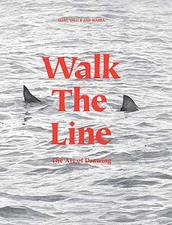 Walk the Line  | books about contemporary drawing