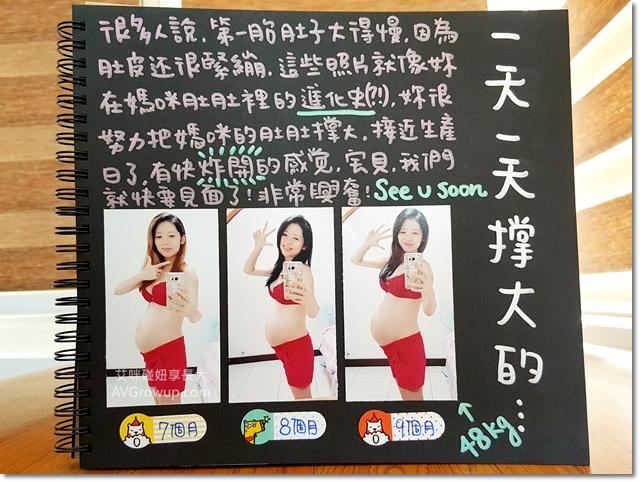 懷孕肚子形狀-懷孕肚子大小-懷孕歷程