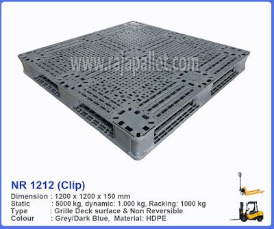 Pallet Plastik NR 1212 (Clip)