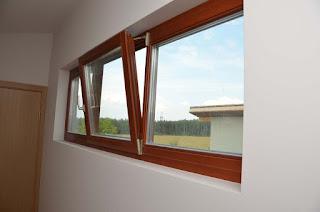 Окна из дерева из лиственницы