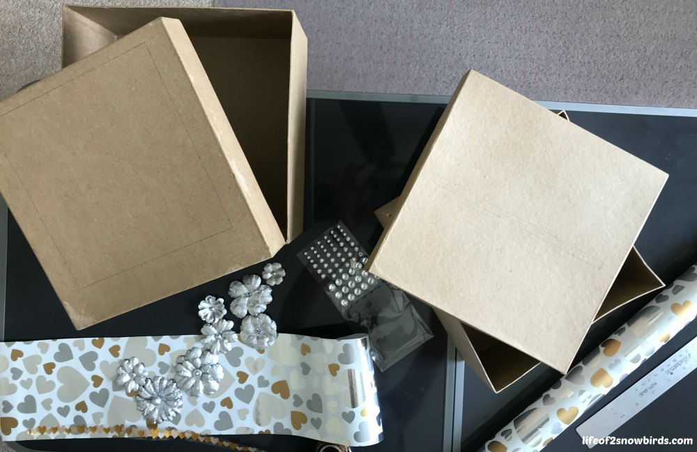 Personalize Your Wedding By Making This Diy Card Box Get The Instructions At Www