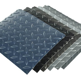 Greatmats diamond tread garage flooring rolls