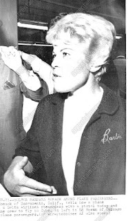 Barbara Romack after her plane was hijacked to Cuba
