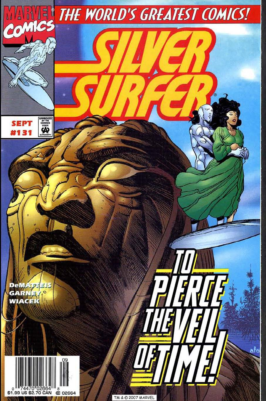 Read online Silver Surfer (1987) comic -  Issue #131 - 1