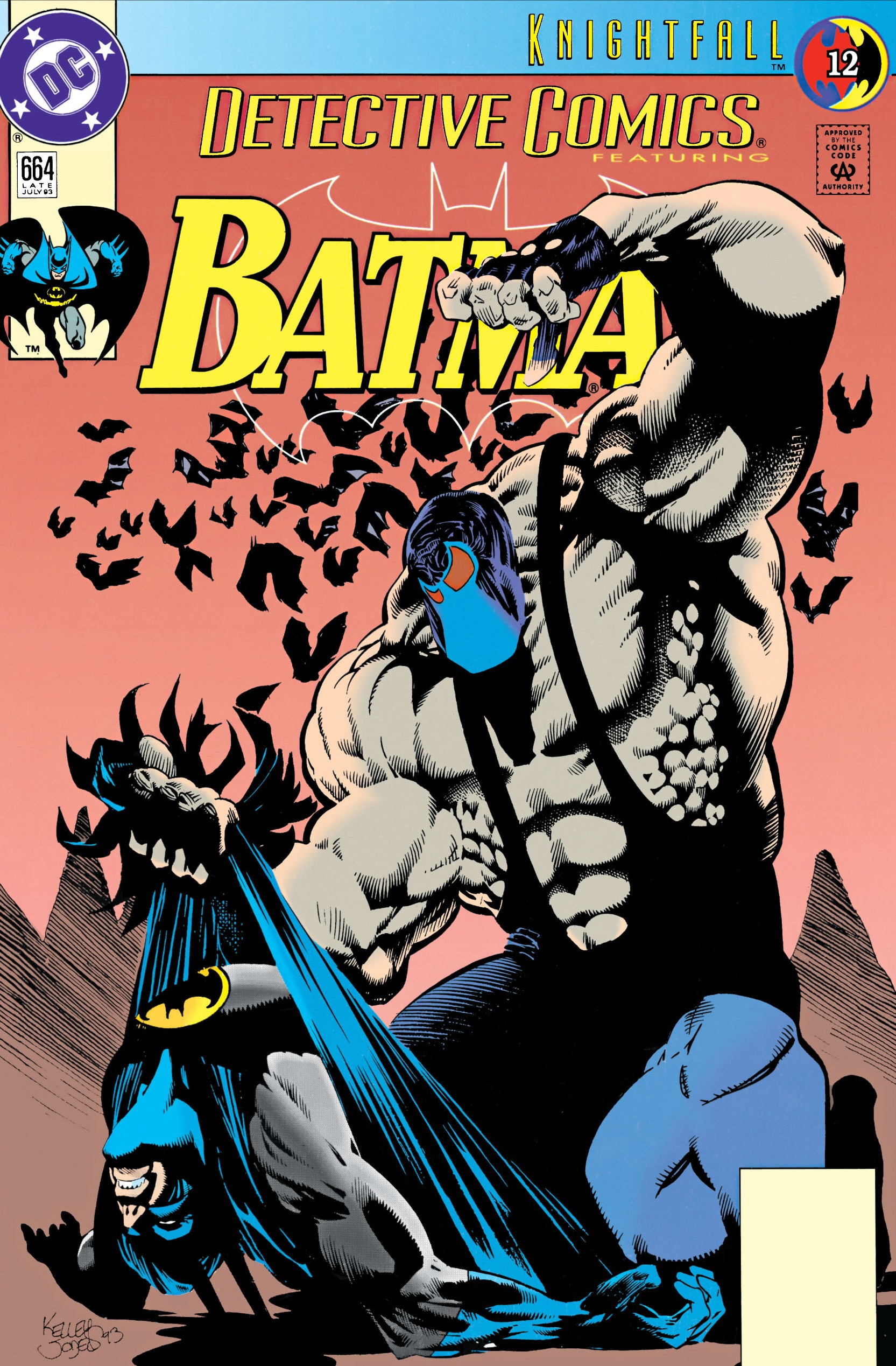 Detective Comics (1937) 664 Page 1