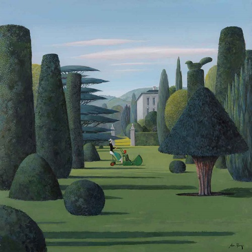 """The Lawn"" by Alan Parry - 2018 