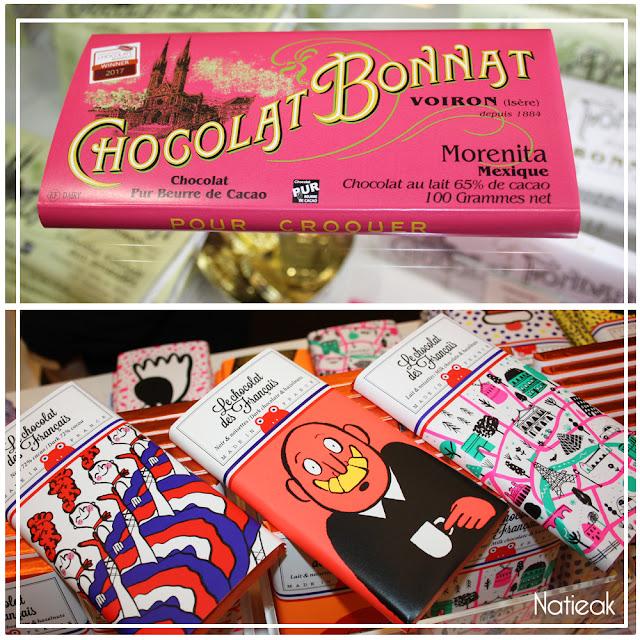 Chocolat Bonnat et Le chocolat des français