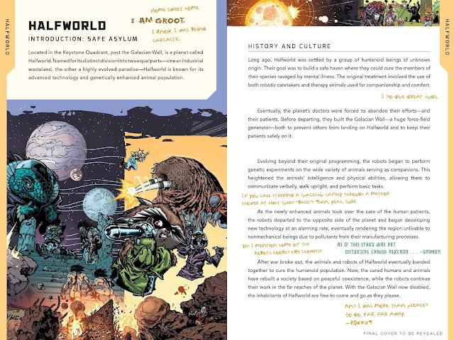 guía Marvel cósmico