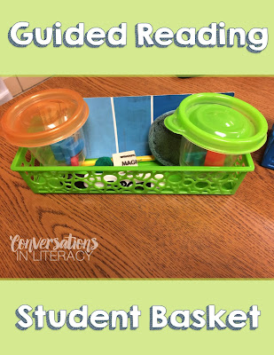 how to organize your guided reading materials
