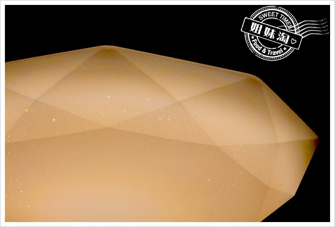家裡省電燈泡一直壞嗎?換上LED吸頂燈讓你一指開關調亮調暗定時擱省電