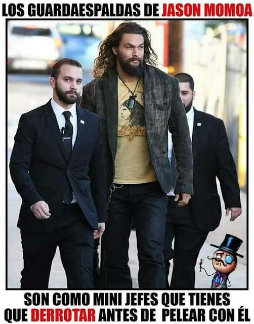 Estos son los guardaespaldas de #Aquaman