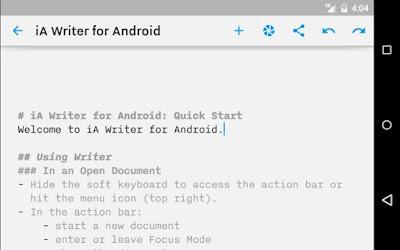 Aplikasi Pemroses Kata Terbaik Android Februari 2017