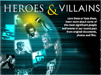 heroes and villains in history, biography of heroes, biography of villains