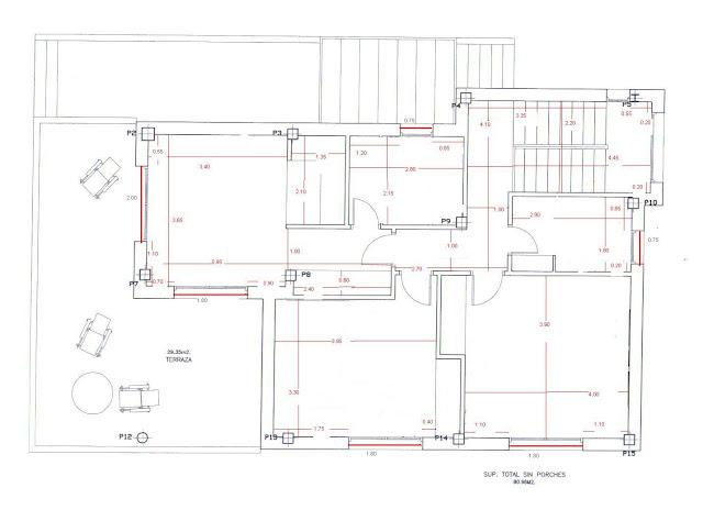Planos low cost el dormitorio de graciela for Medidas estandar de ventanas argentina