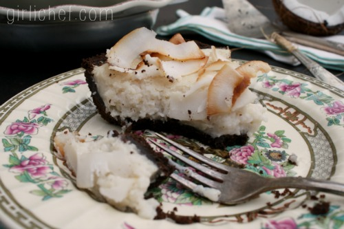 Coconut No-Cream Pie #dairyfree