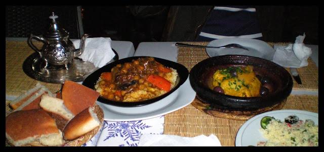 Comer en Marrakech: cuscús, tajine y té a la menta