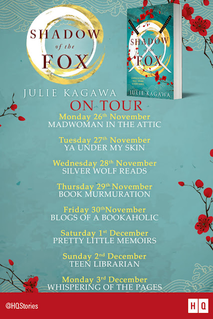 Blog Tour & Review with Extract: Shadow Of The Fox by Julie Kagawa