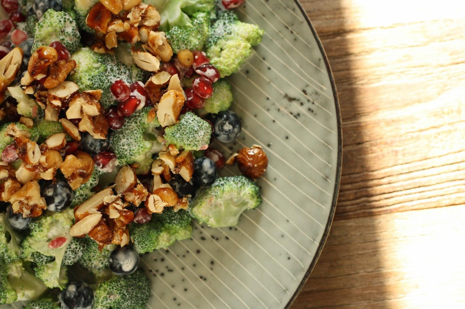 broccoli salat med creme fraiche
