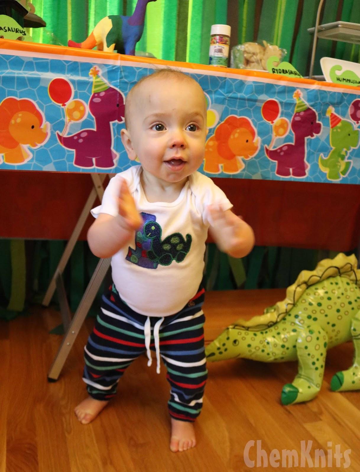 chemknits rowdy u0027s dinosaur birthday shirt