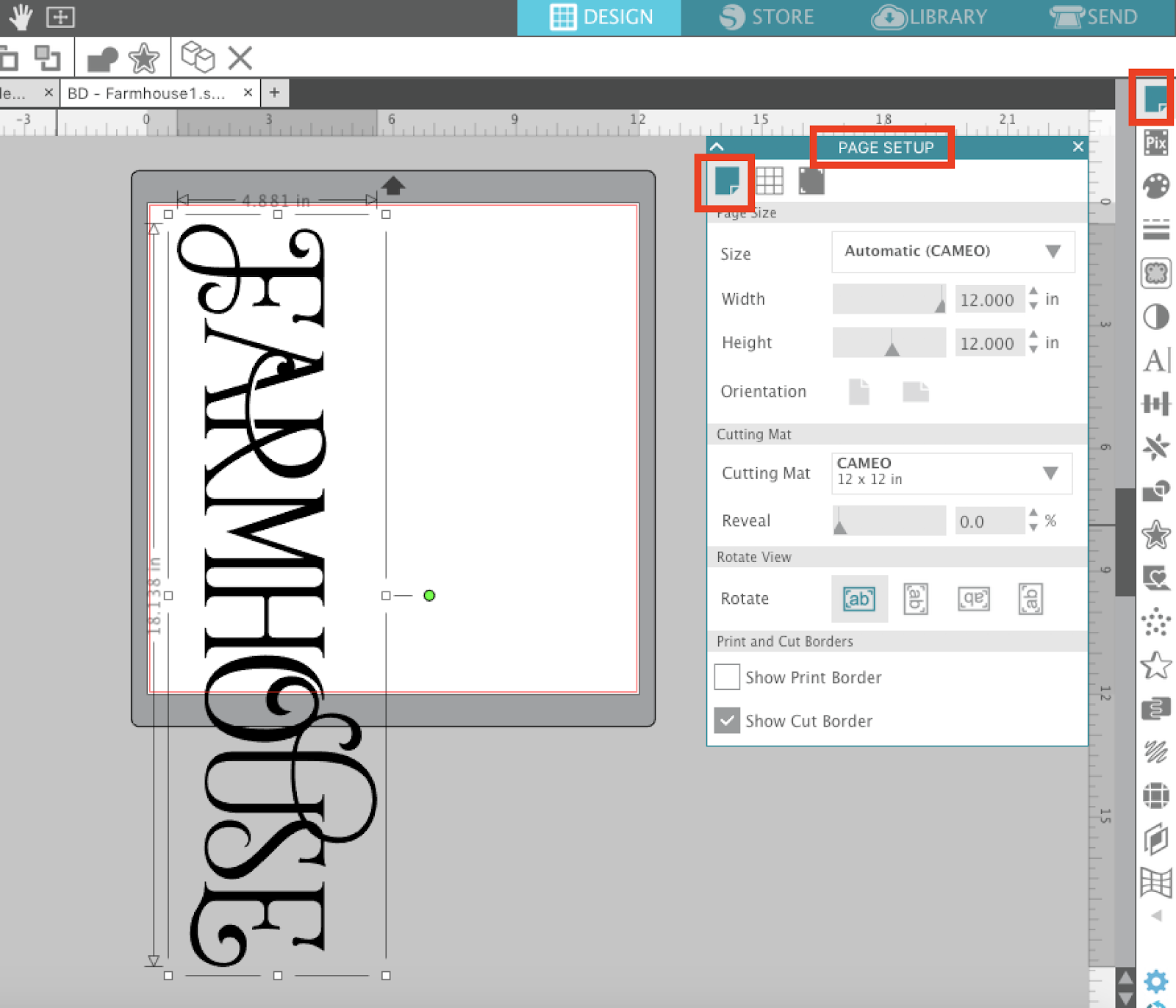 Cutting Without A Silhouette Cutting Mat 3 Steps To Set