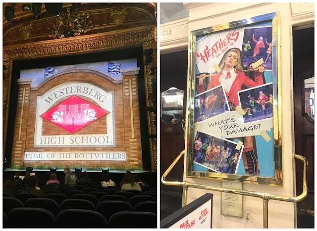 Inside and outside the Theatre Royal Haymarket