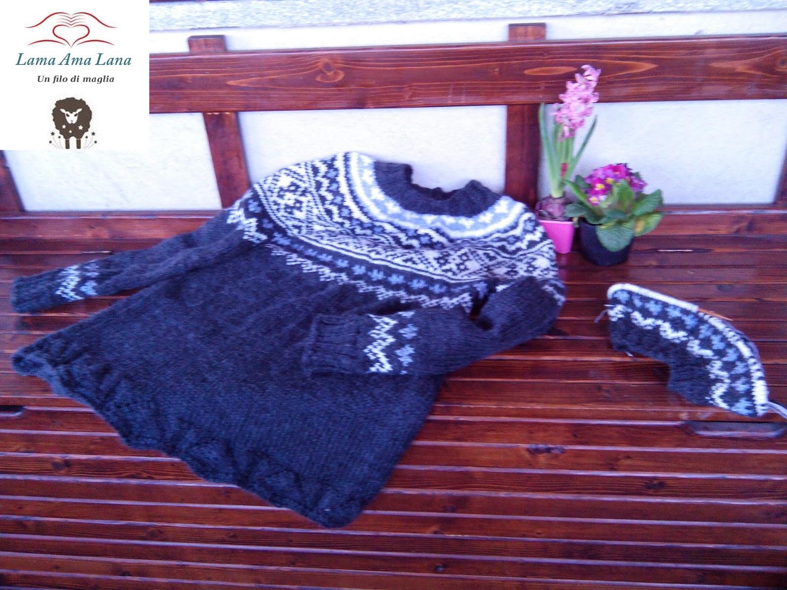 Knitting Di Islandese Maglione Sylvie Maglia Yokes HobbyIl sQdCthr