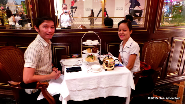 Seats-For-Two at TWG Tea Salon and Boutique