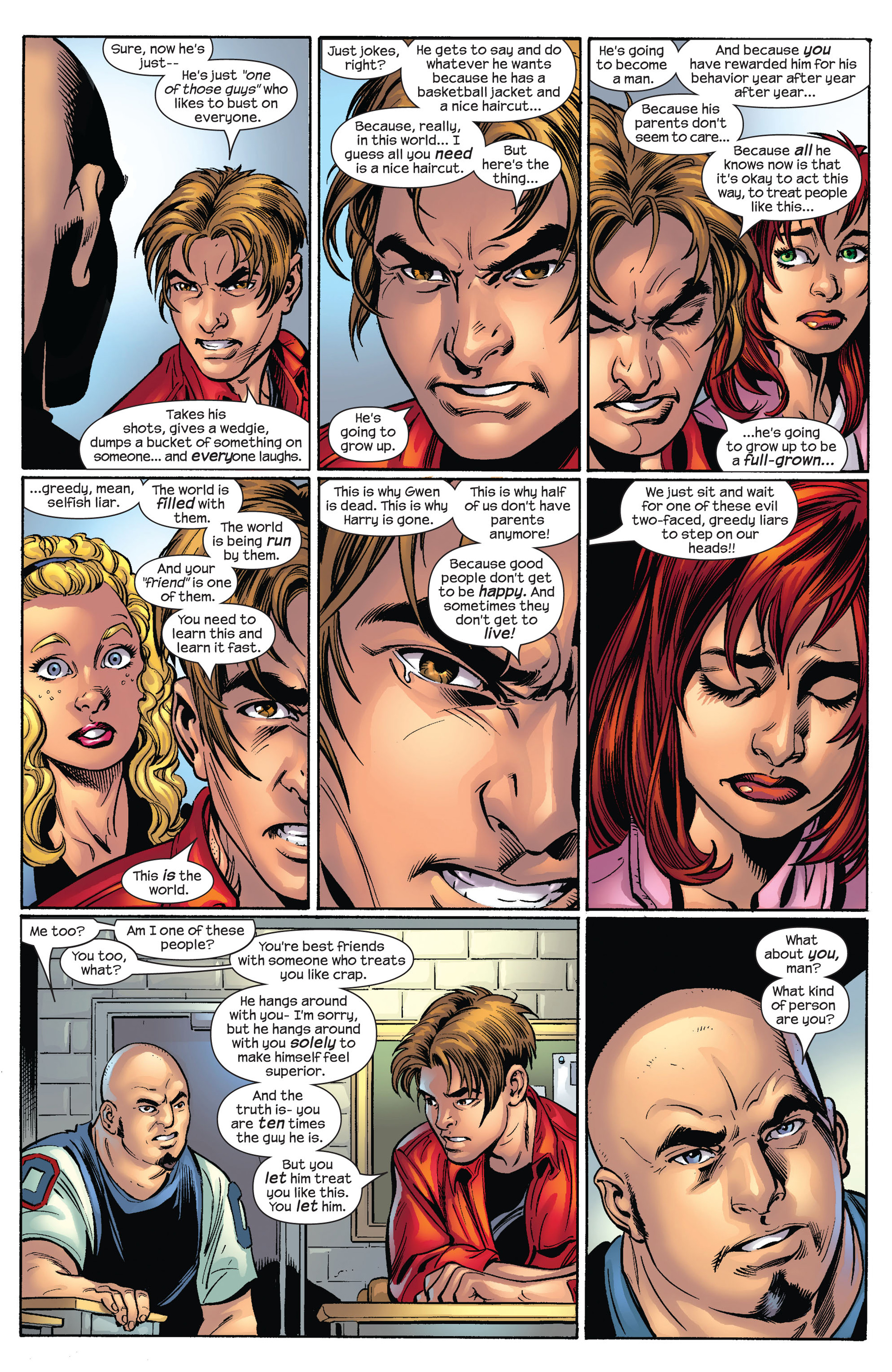 Read online Ultimate Spider-Man (2000) comic -  Issue #65 - 12