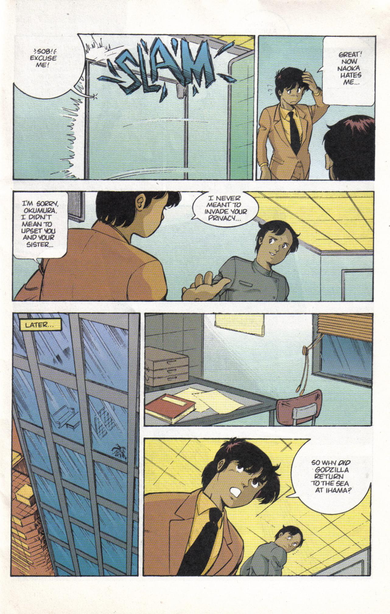 Read online Dark Horse Classics: Terror of Godzilla comic -  Issue #3 - 7