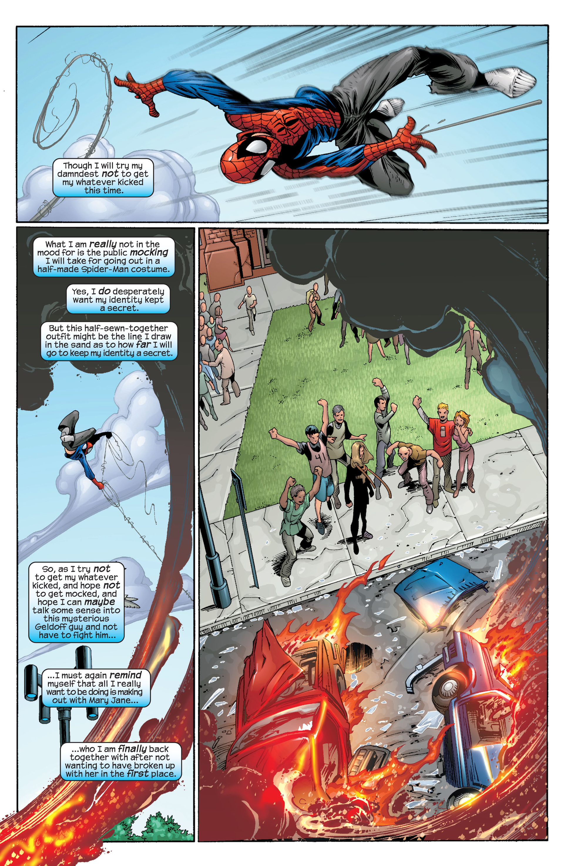 Read online Ultimate Spider-Man (2000) comic -  Issue #42 - 4